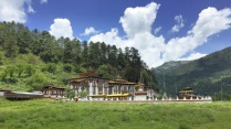 Kurje Lhakhang near Jakar, Bhutan