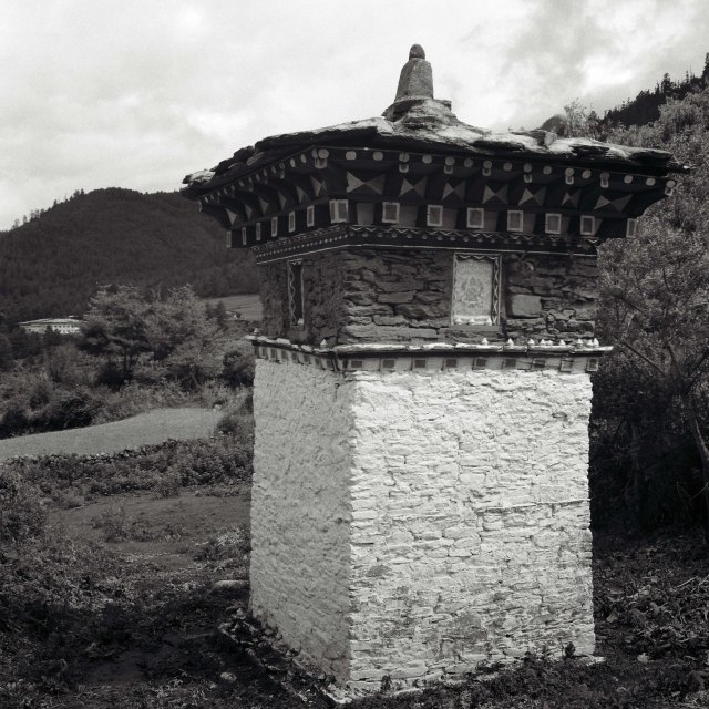 Chorten, Haa Valley